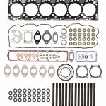 TrackTech Complete Top End Cylinder Head Gasket / Studs Service Kit for 07.5-18 6.7L Cummins 24V