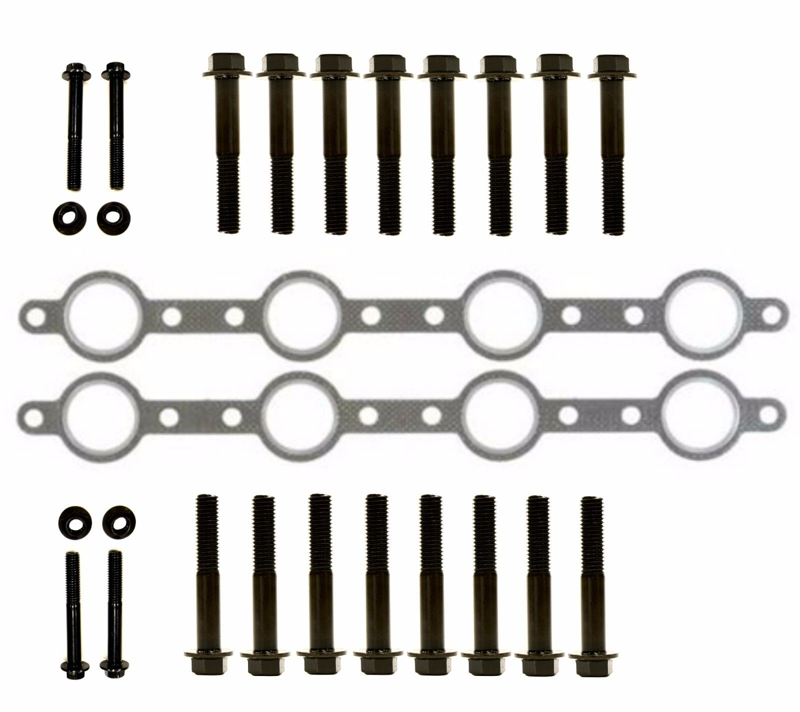 TrackTech Exhaust Manifold Gasket Bolt Kit for 94-03 7.3L Powerstroke