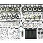 Complete Top End Cylinder Head Gasket / Studs Service Kit for 03-10 6.0L Powerstroke