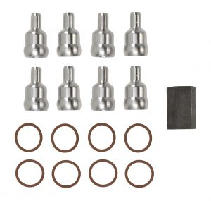 TrackTech High Pressure Oil Rail Ball Tube Repair Kit for 03-10 6.0L Powerstroke