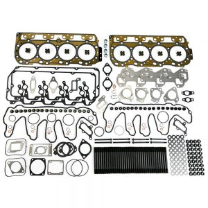 TrackTech Complete Top End Cylinder Head Gasket / Studs Service Kit for 04.5-07 LLY LBZ Duramax